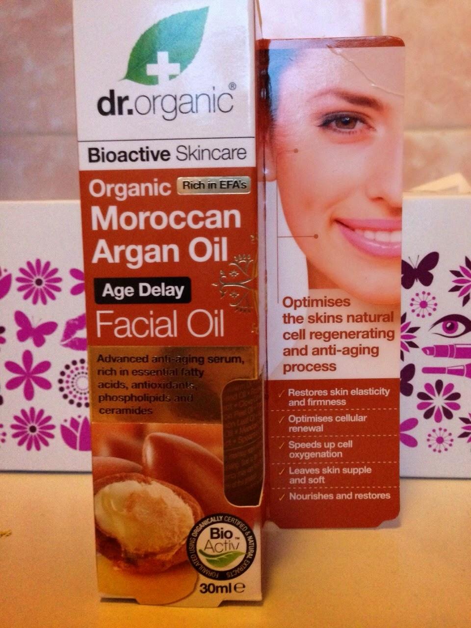 dr organic moroccan oil